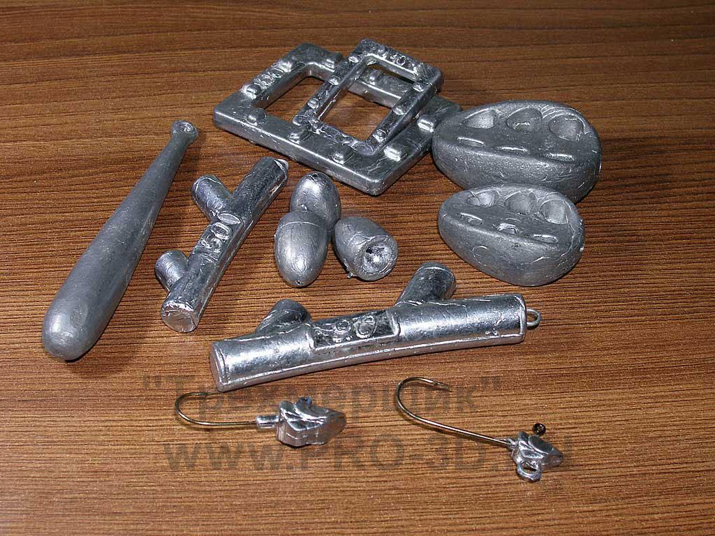 Изготовление формы для литья из свинца своими руками 74